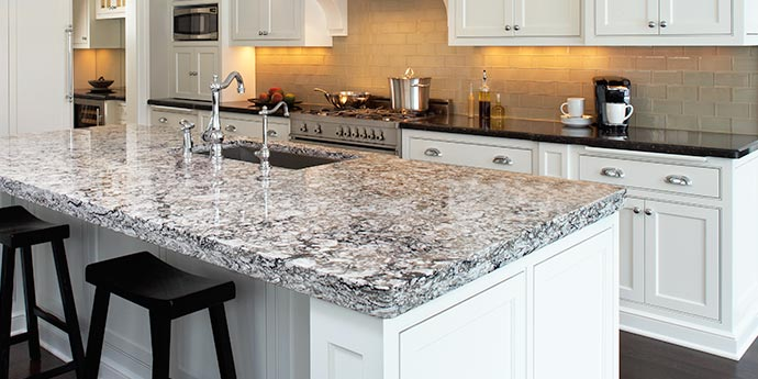 Kitchen White Counter Top